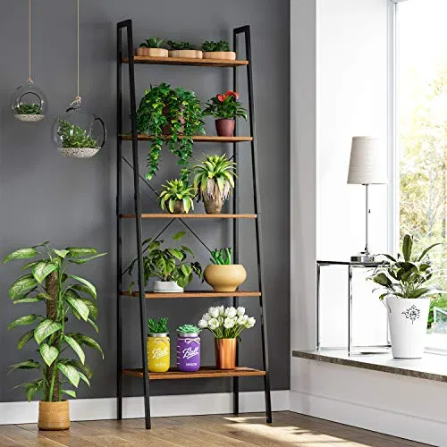 Industrial Wall Floating Shelf Display Storage Rack Plant Stand Unit Home Decor