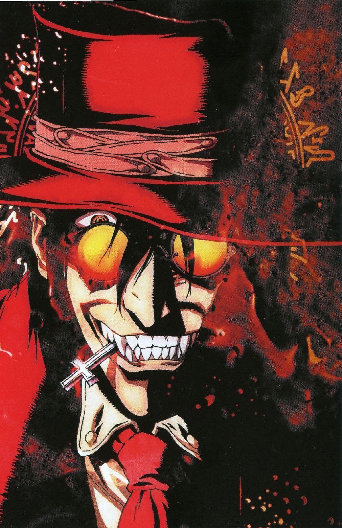 70 ilustraciones de hellsing el mejor anime de vampiros
