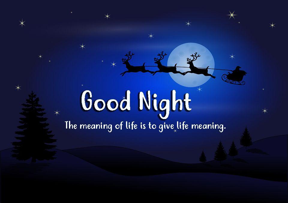 Good Night Wallpaper Hd Good Night Image Good Night Wallpaper Christmas Quotes Images
