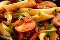 Cajun Pastalaya    The most requested potluck dish I make.