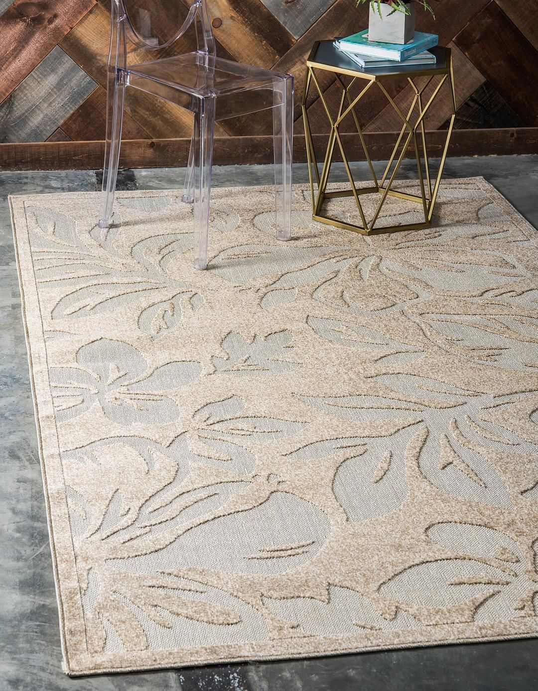 Beige 9 X 12 Transitional Indoor Outdoor Rug Area Rugs Irugs
