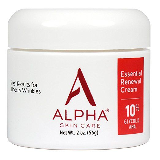 Amazon Com Alpha Skin Care Essential Renewal Cream With 10 Glycolic Aha Fragrance Free And Paraben F Skin Care Essentials Skin Care Fragrance Free Products