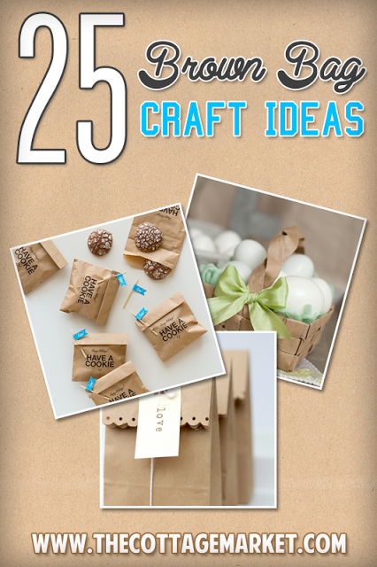 Info's : 25 Brown Bag Crafts Create and Recycle