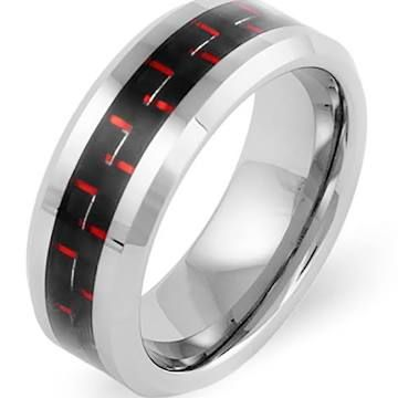tungsten engagement rings for him - Google Search