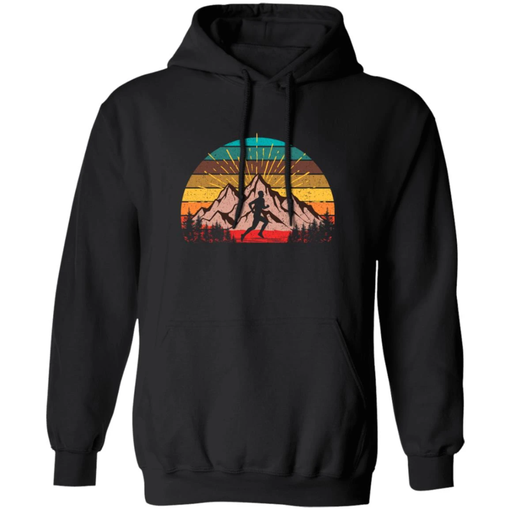 Retro Vibe Mount Rainier Sweatshirt Vintage Mountains /& Sun