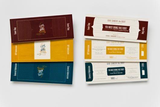 attractive ticket designs raffle tickets pinterest design