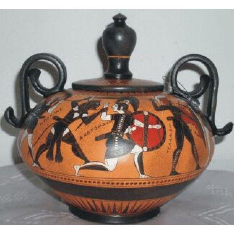 Greco Roman ceramic vase Fontaniera