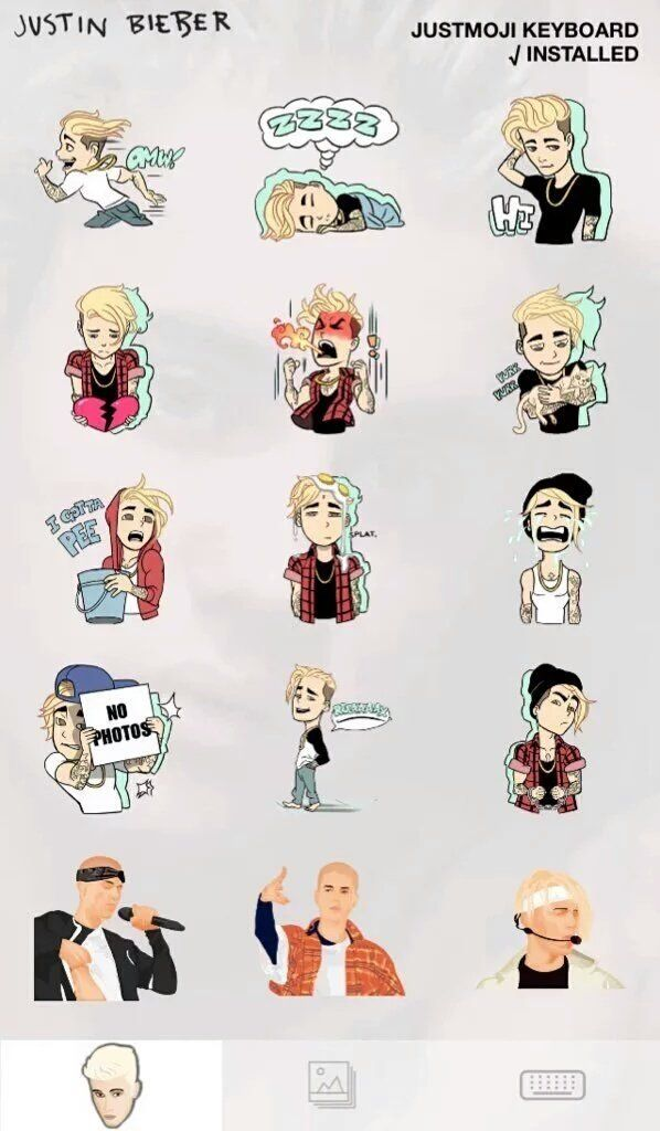 Justin Bieber S Emojis Are Here Get Em On The Apple Store Here Https Appsto Re Au Eikjab I It Justin Bieber Wallpaper Justin Bieber Justin Bieber Albums