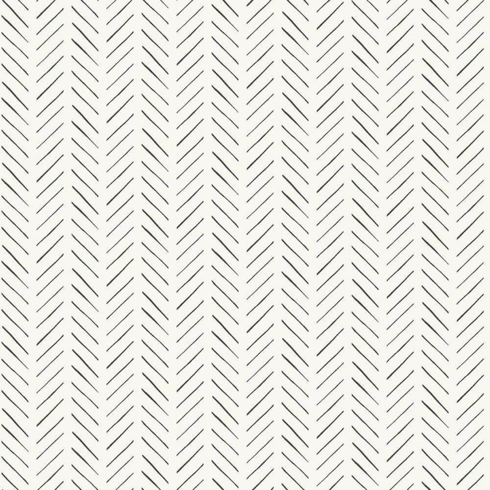 Magnolia Home Pick Up Sticks Black Wallpaper Mk1170 In 2020 Pattern Wallpaper Herringbone Wallpaper Textured Wallpaper