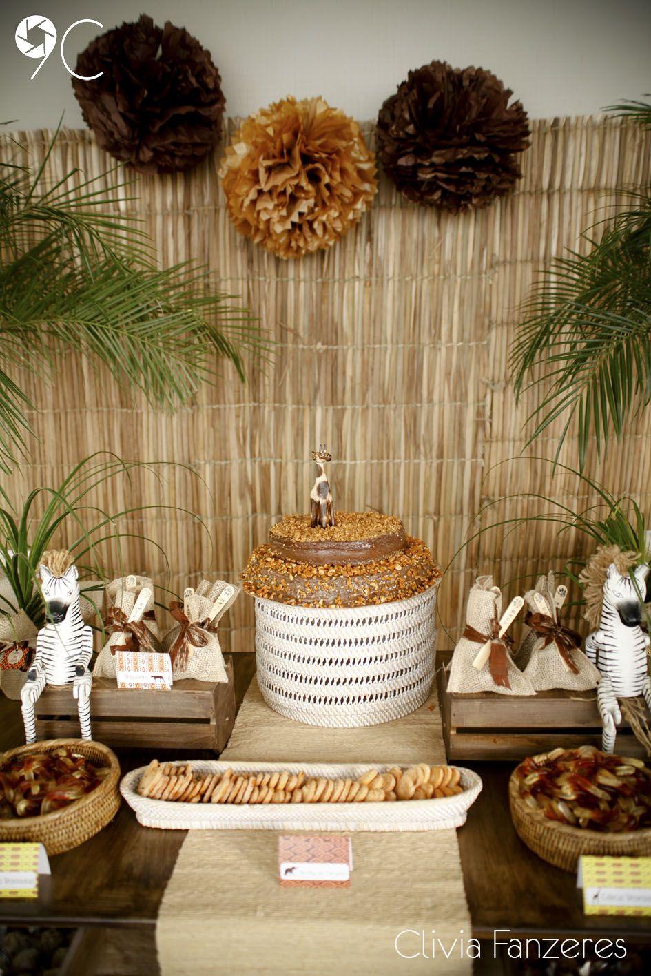 Pons Theme Baby Shower Cake