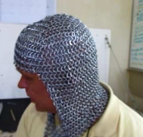 how to make riveted chainmail