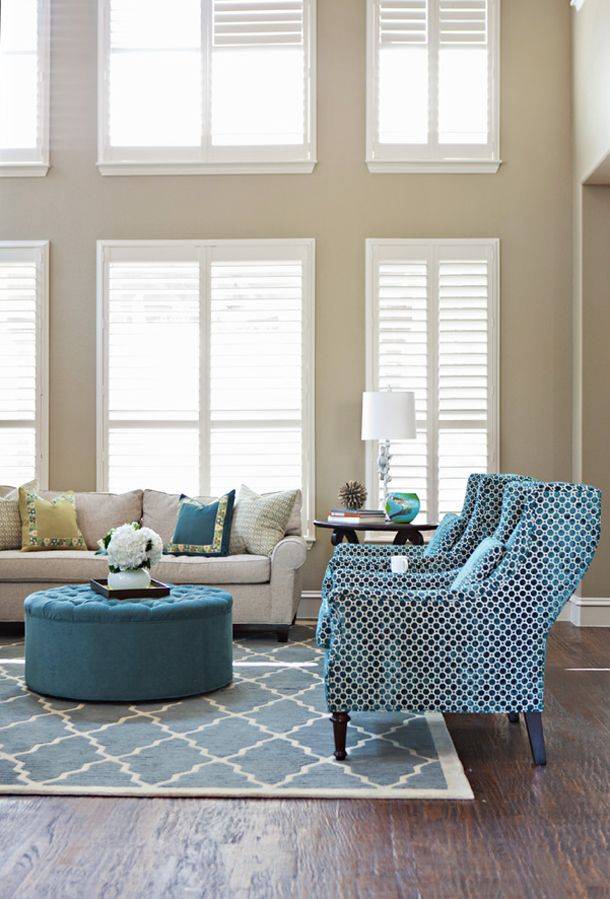 Again My Favorite Color Scheme For The Living Room Sand White New House Of Turquoise Living Room