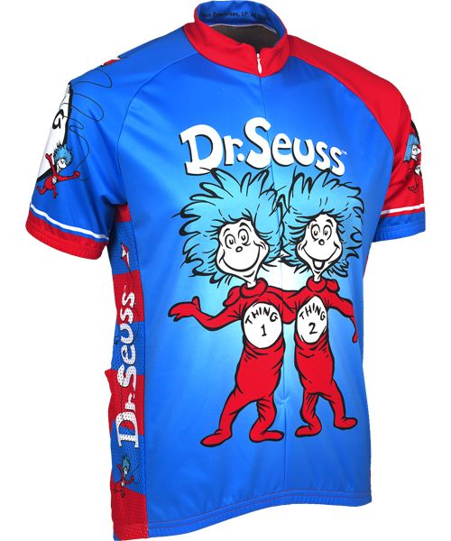 Download Dr. Suess Thing 1 and Thing 2 Cycling Jersey | Cycling ...