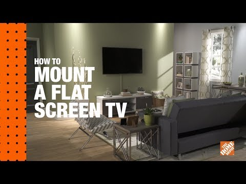 Learn how to mount a TV on the wall with just a few tools