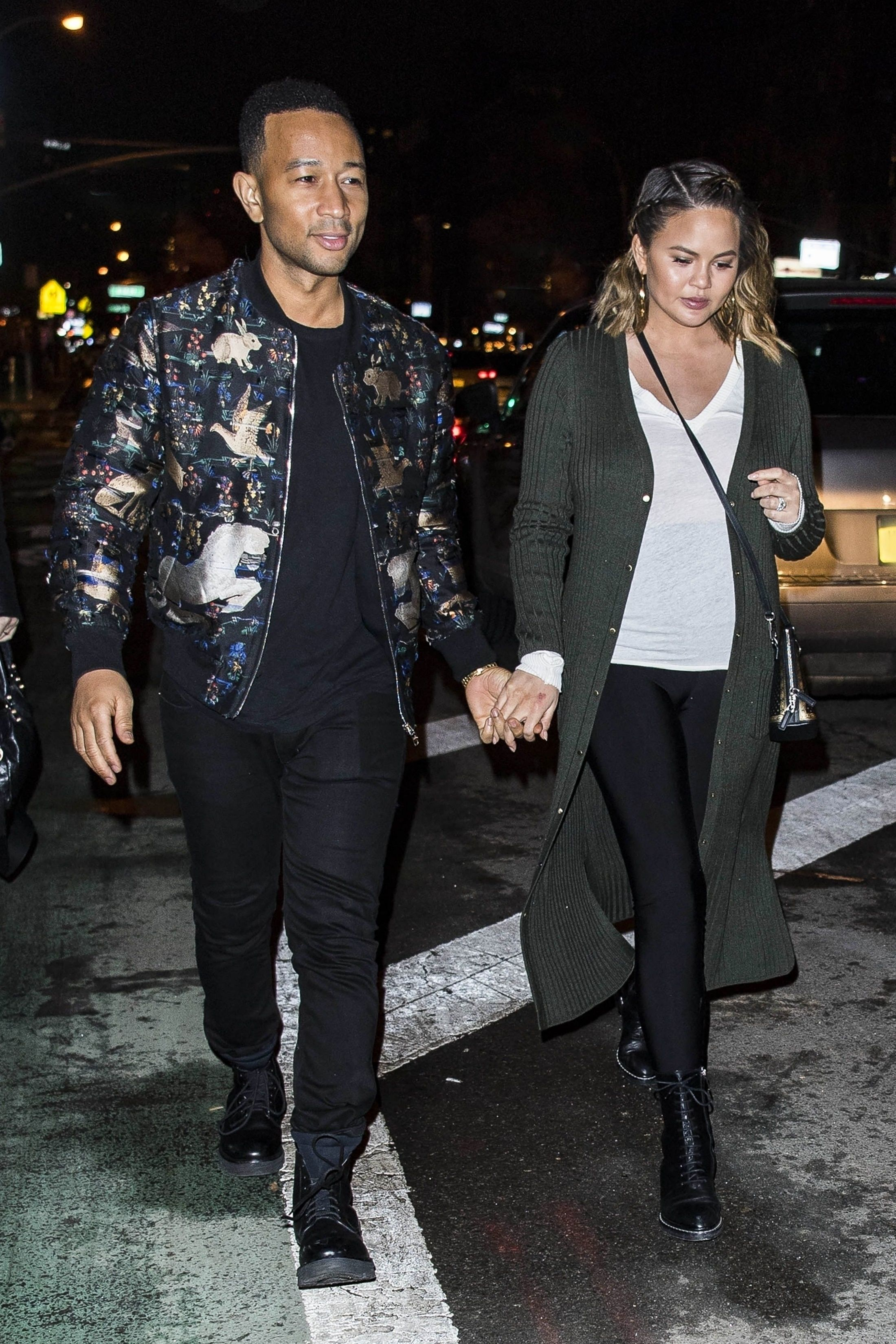 John Legend Out On Date Night On Looklive Fashion Fashion Night John Legend [ 3300 x 2200 Pixel ]
