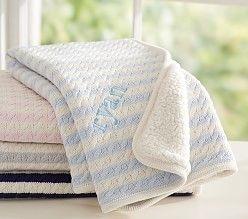 Personalized Baby Christening & Baptism Blanket | SimplyUniqueBabyGifts.com