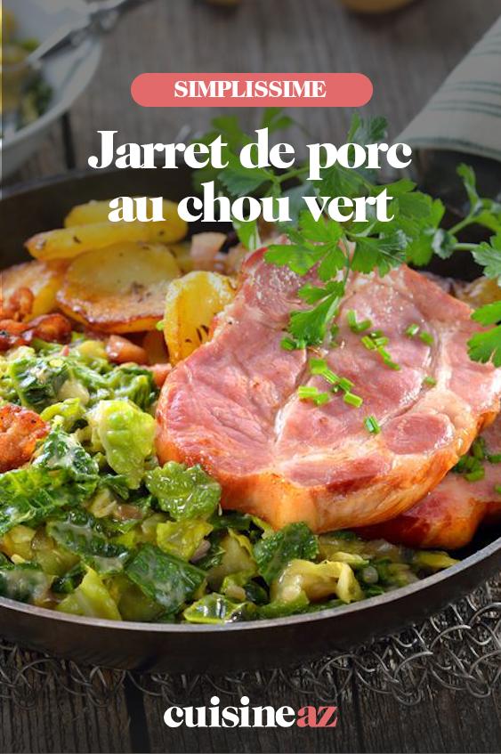 Jarret De Porc Au Chou : jarret, Épinglé, Recettes, Françaises