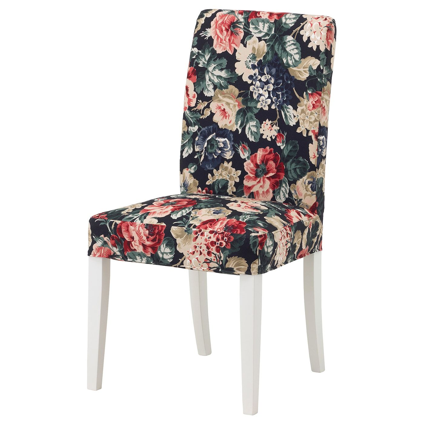 IKEA HENRIKSDAL Chair cover Lingbo multicolor