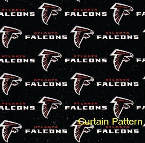 Atlanta Falcons Nfl Logo Shower Curtain 72X72 Free Us Shipping