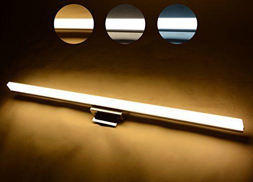Best Bathroom Light Fixtures   3 CCT Waterproof LED Mirror Lamp ...