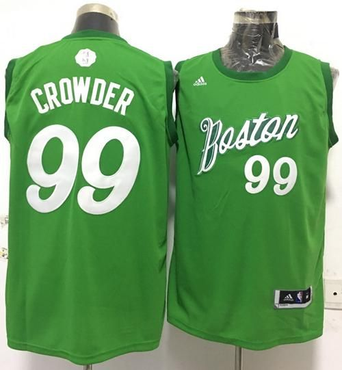 uk availability 36da7 6fef9 $21 Boston Celtics #99 Jae Crowder adidas Green 2016 NBA ...