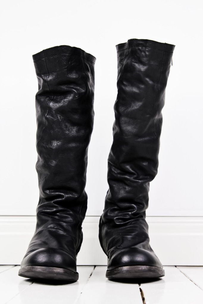 Leather Boots Mens Outfit