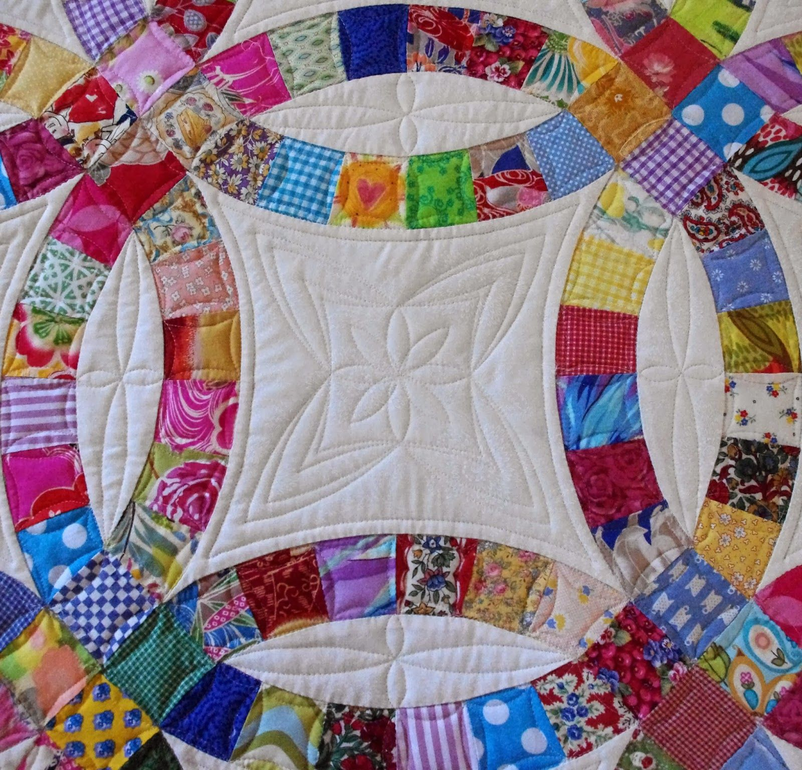 Quilts on Bastings Double Wedding Ring Quilt Wedding