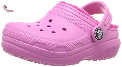 Crocs Crocbandclogk, Sabots Mixte Enfant, Rose (Party Pink), 25-26 EU -  Chaussures crocs (*Partner-Link) | Chaussures Crocs | Pinterest | Crocs