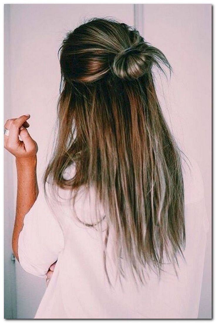 Cool easy half up half down hairstyles for every occasion