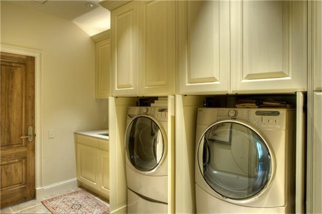 Fresh Washer Dryer Storage Cabinet