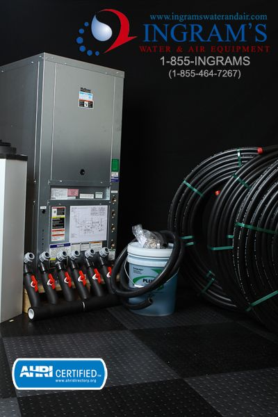 Mcquay International Geothermal Heat Pump 5 Ton Install Package