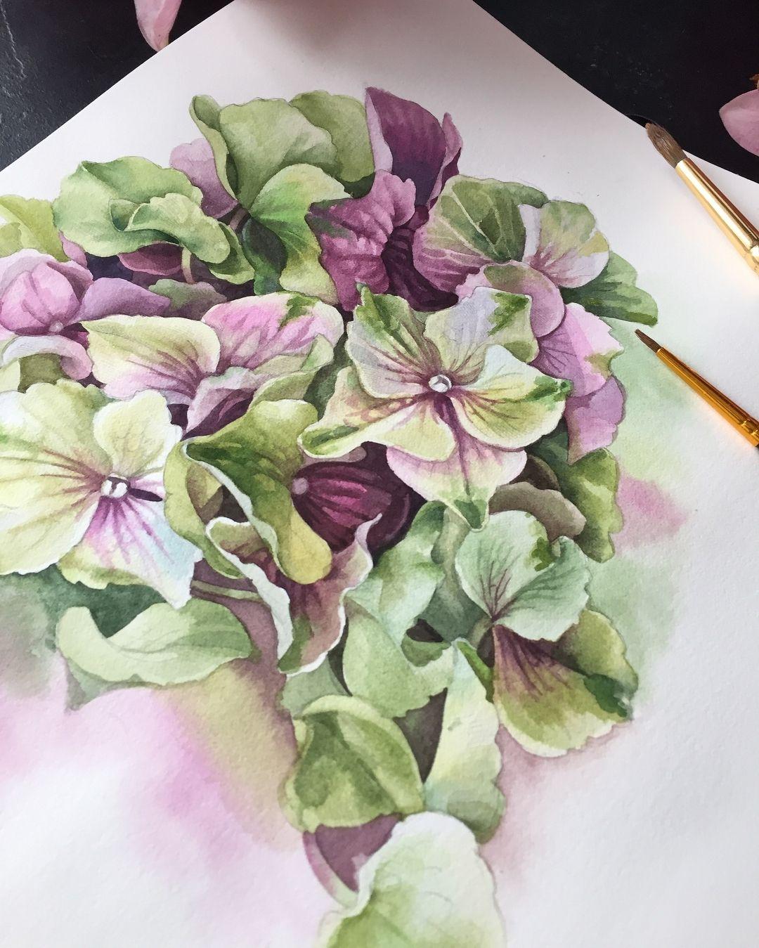 Watercolorist Y Yumaeva Waterblog Akvarel Aquarelle