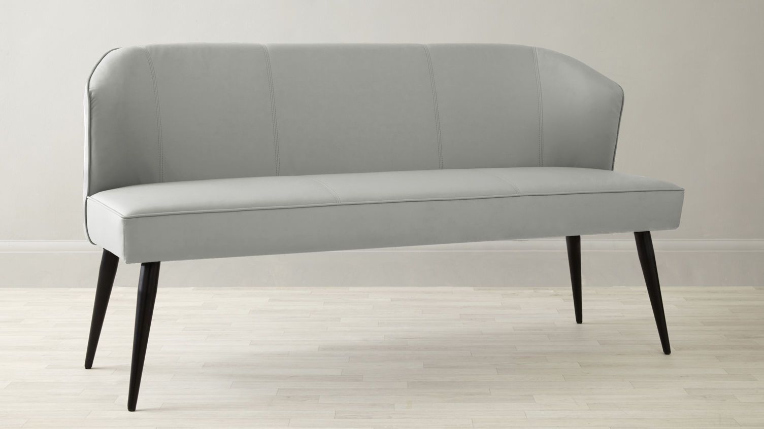3 Seater Dining Bench With Backrest | Modern Dining Furniture