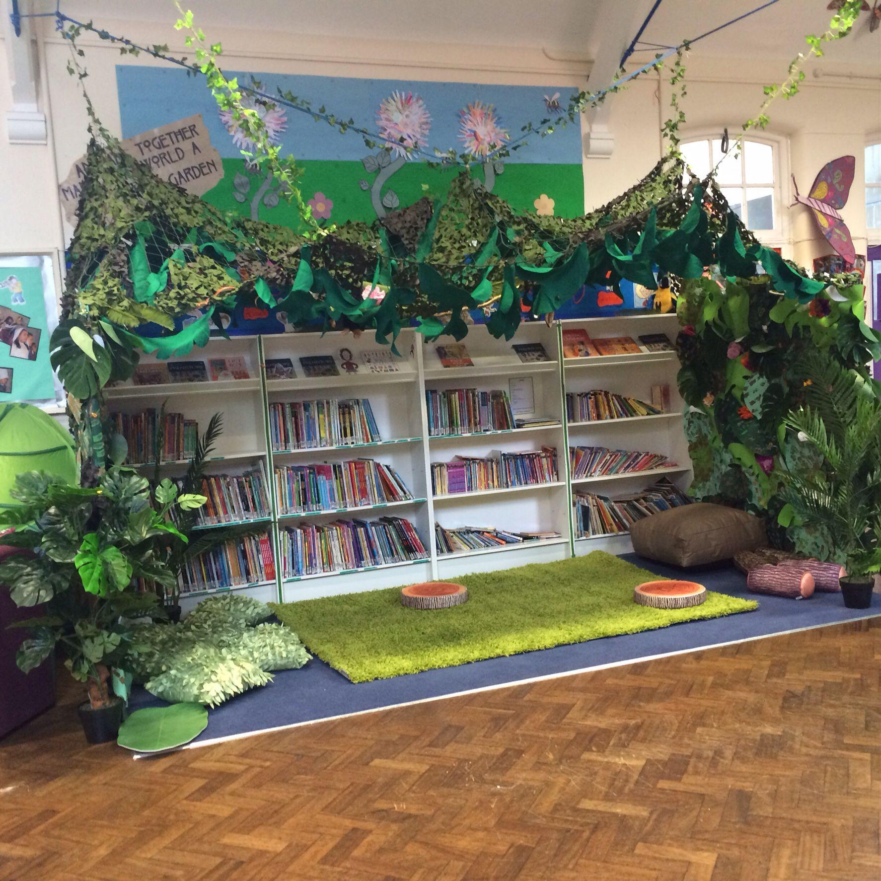 Rainforest Reading Area
