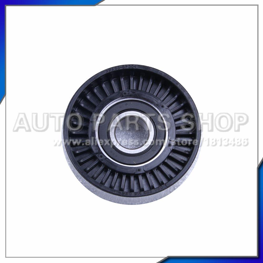 Auto Parts Metal Belt Tensioner Pulley For Mercedes Benz W202 W203 W210 W211 W220 W163 R170 Slk Clk C280 C320 E430 1122000970 Metal Belt Auto Mercedes Benz