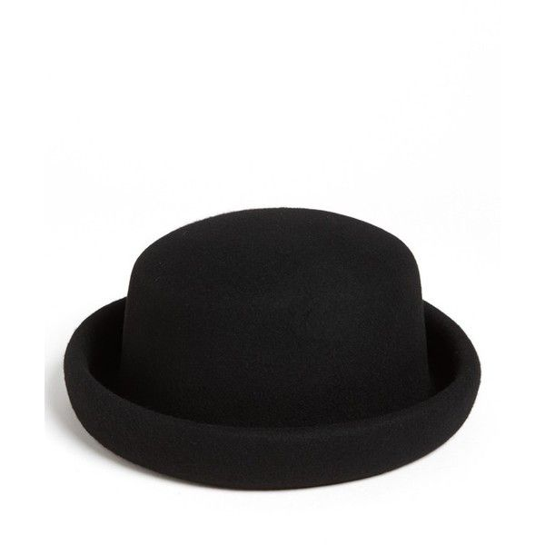 a637872c65e33 Topshop  Pork Pie  Bowler Hat ( 20) ❤ liked on Polyvore featuring  accessories