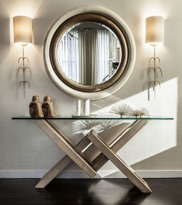 16 Top 20 Console Tables For A Modern Entryway 603x680 16 Top 20 Console Tables For A Modern Entr Modern Console Tables Console Table Decorating Entryway Decor