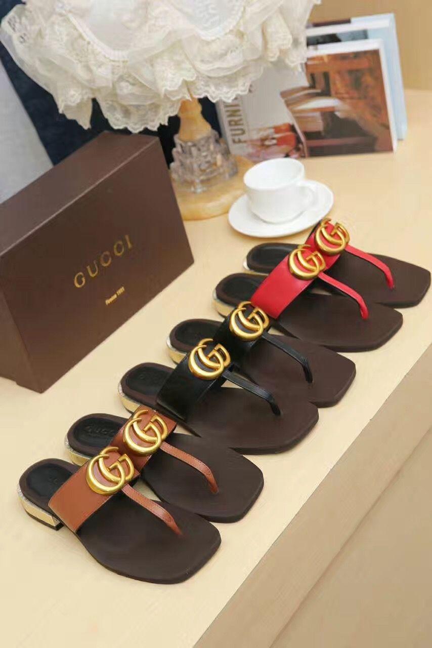 Gucci lady women sandals slipper