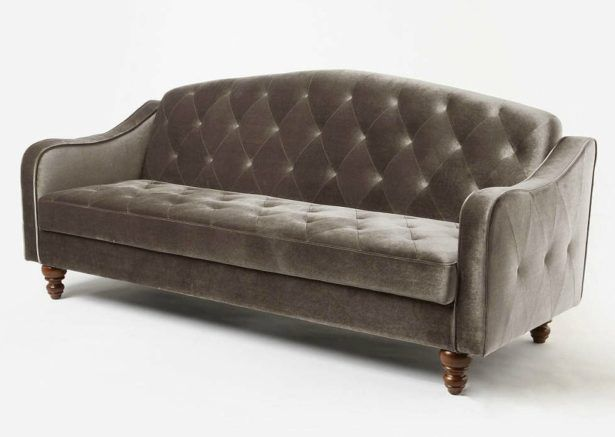Living Room Ava Velvet Tufted Sleeper Sofa Review