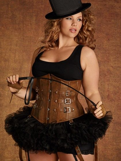 11080fe120 Hips And Curves Tara Underbust Corset With Buckles - Black 30 ...