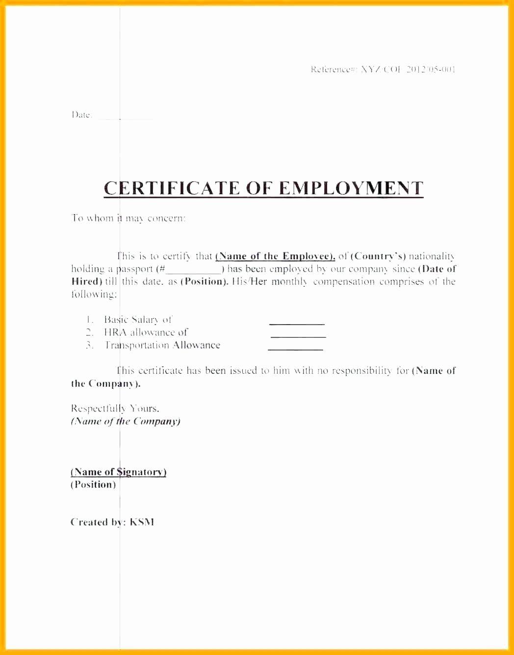 The Amazing 042 Online Certificates For Jobs Fresh Job Fer Letter