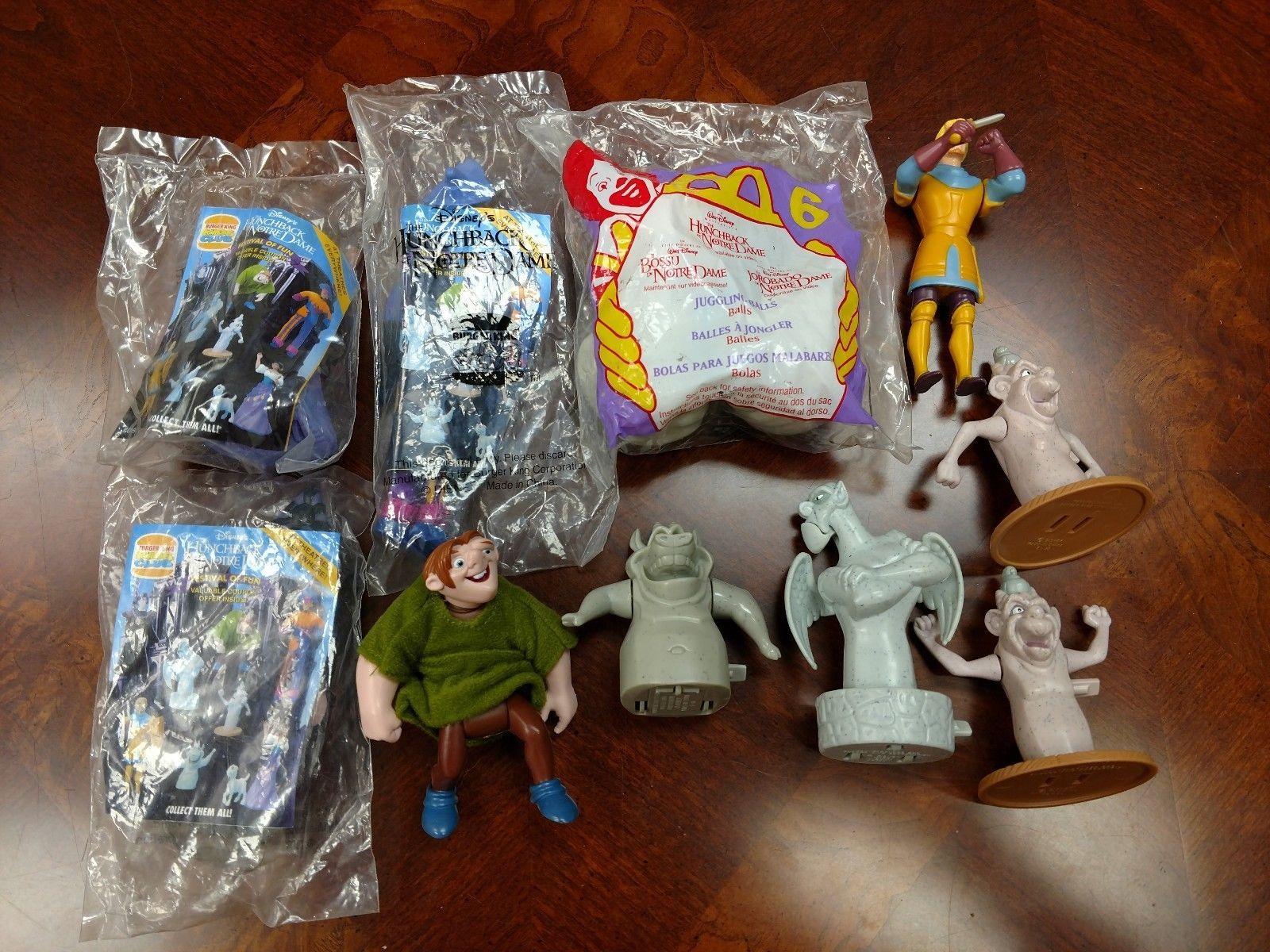 Burger King Kids Meal Toys Disney S Hunchback Of Notre Dame Complete Set Of 8 Kids Meals Kids Kids Health