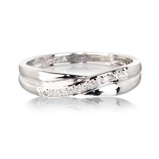 9ct White Gold Diamond Eternity Ring Warren James Jewellery