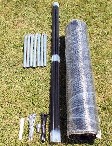 Deerbusters Canada 75 x 100 Steel Hex Deer Fence Kit Garden