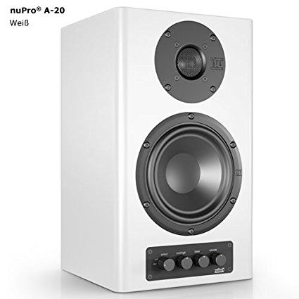 Simple Elegant Nubert nuPro A 20 Active Monitor Contemporary - Modern sound monitor For Your Plan