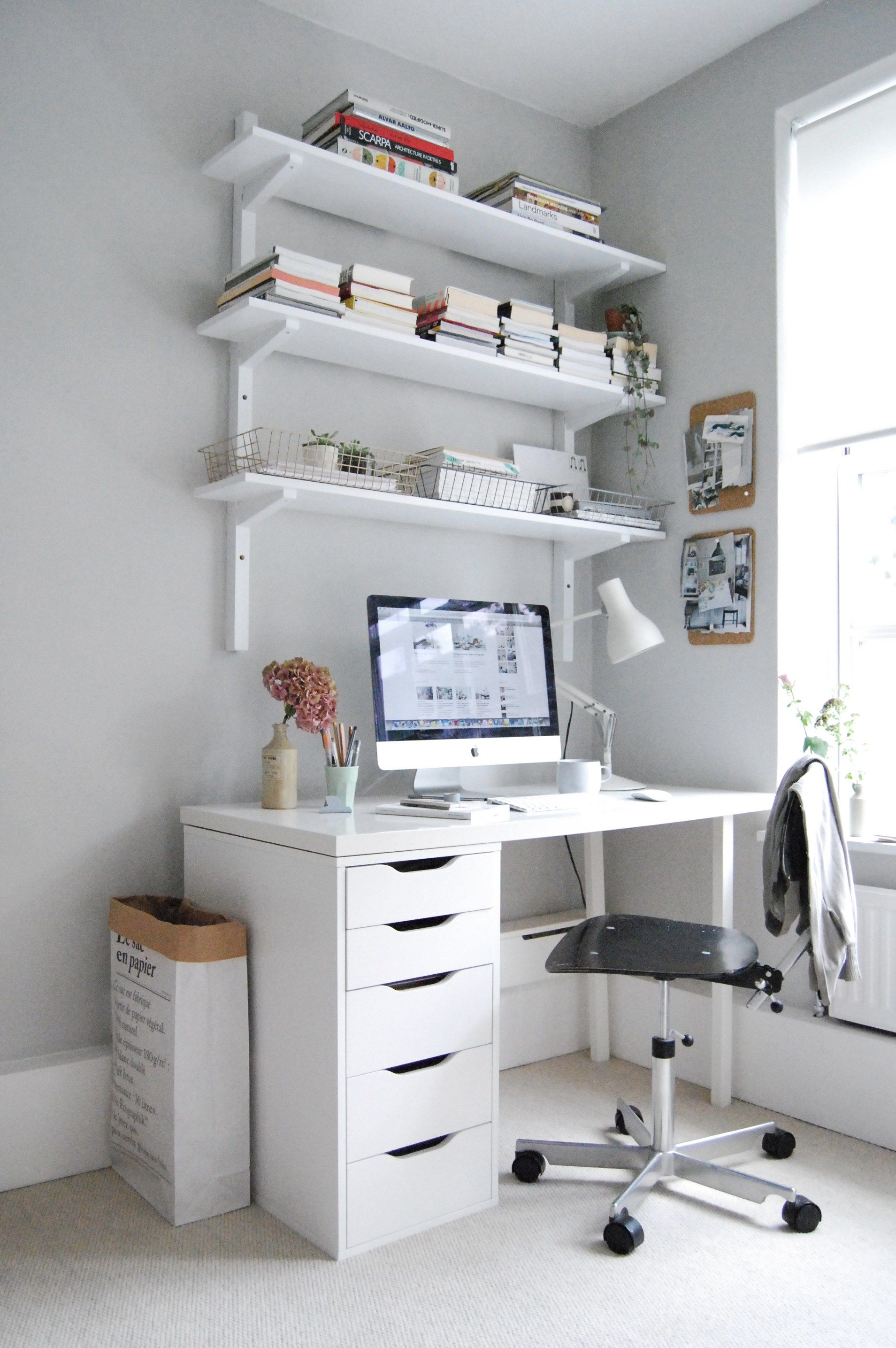 My guest room and home office makeover | Spare room, Office makeover ...