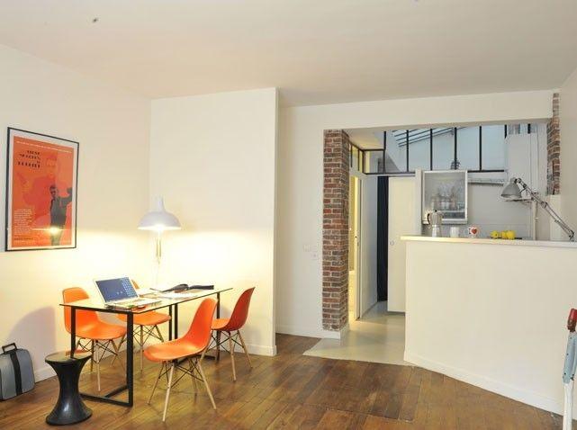 comment am nager un petit appartement piccoli spazi appartamenti pinterest petits. Black Bedroom Furniture Sets. Home Design Ideas