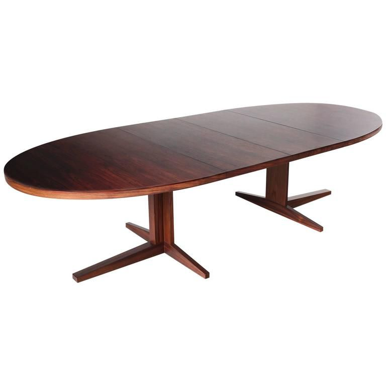 Elegant Extendable Oval Dining Table in Rosewood Picture - Model Of rosewood coffee table Idea
