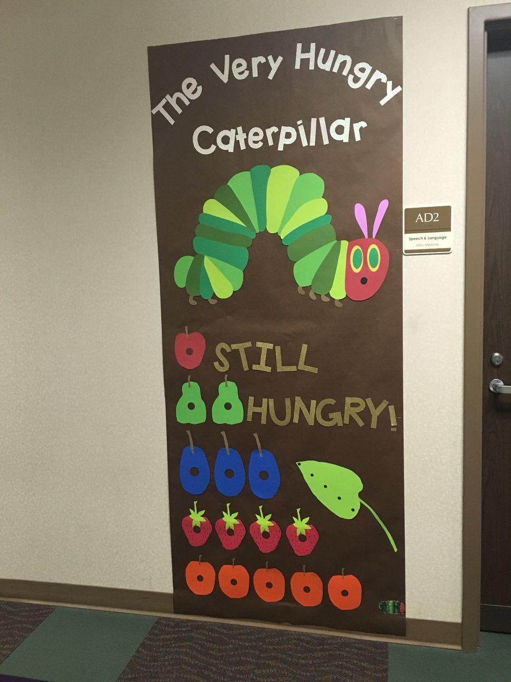 the very hungry caterpillar door decoration decorazioni e porte