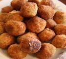 Lidia's Italy: Recipes: Stuffed Rice Balls